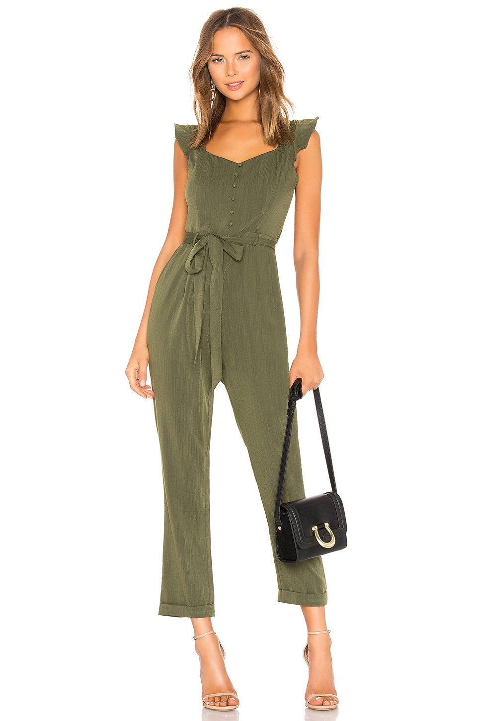 Heartloom HEARTLOOM ARWEN JUMPSUIT IN ARMY.