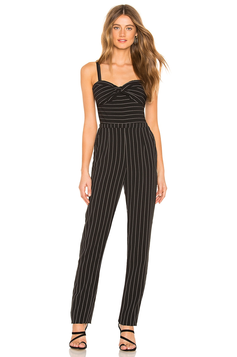 HEARTLOOM Arden Jumpsuit in Black