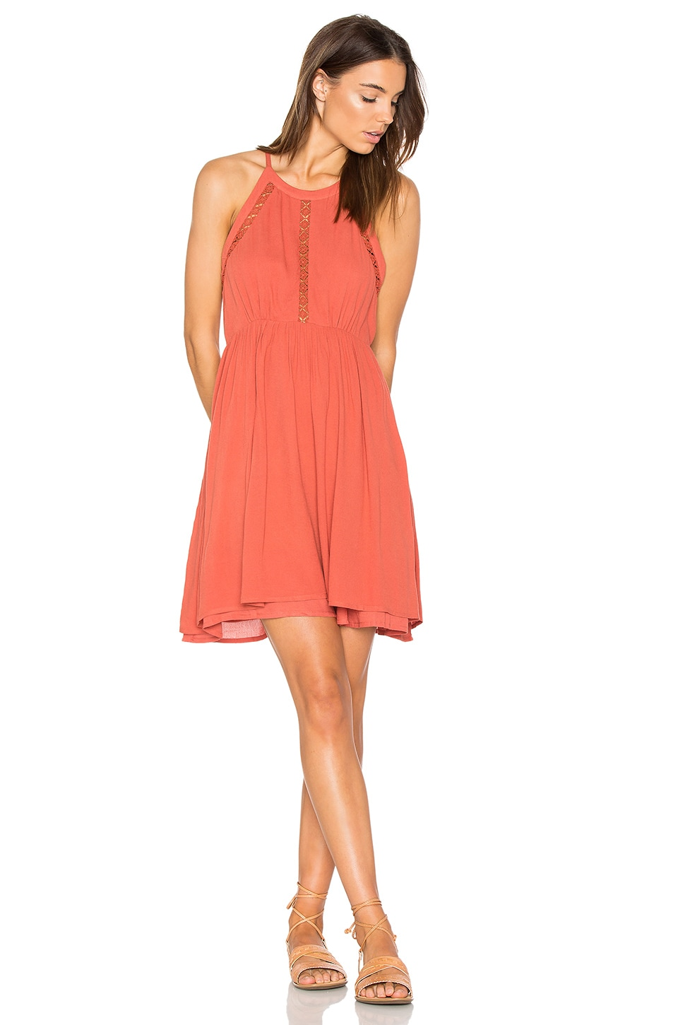 HEARTLOOM Grace Dress in Terracotta