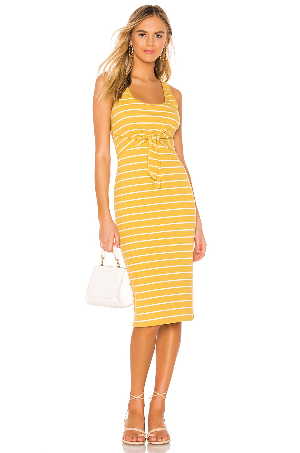 Heartloom HEARTLOOM KENZIE DRESS IN YELLOW.