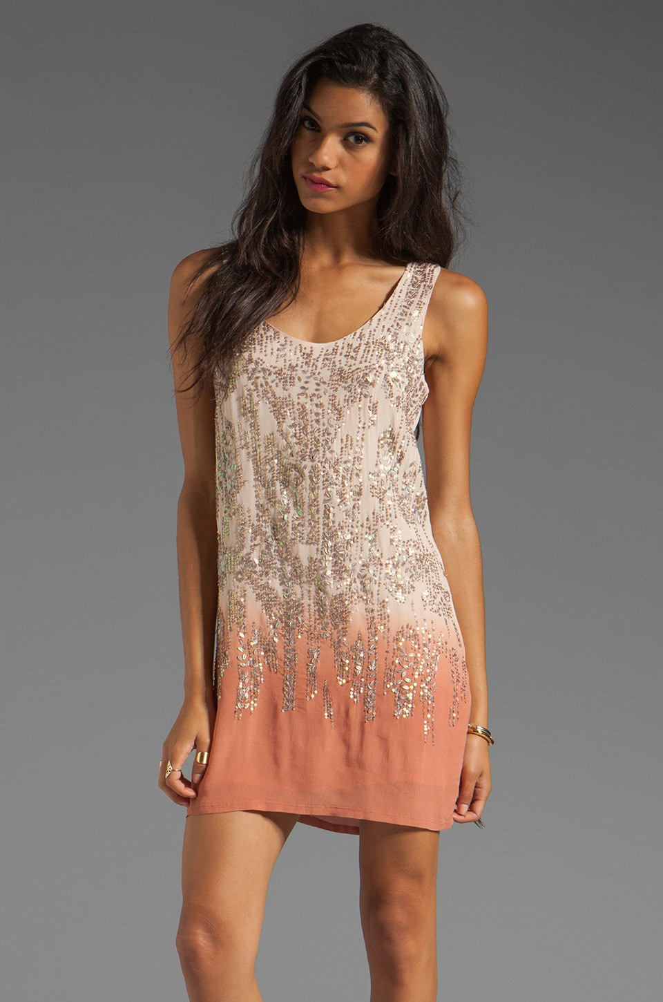 HEARTLOOM Kat Dress in Blush