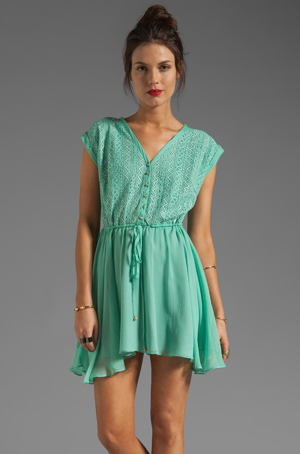 heartLoom Estelle Dress in Seafoam