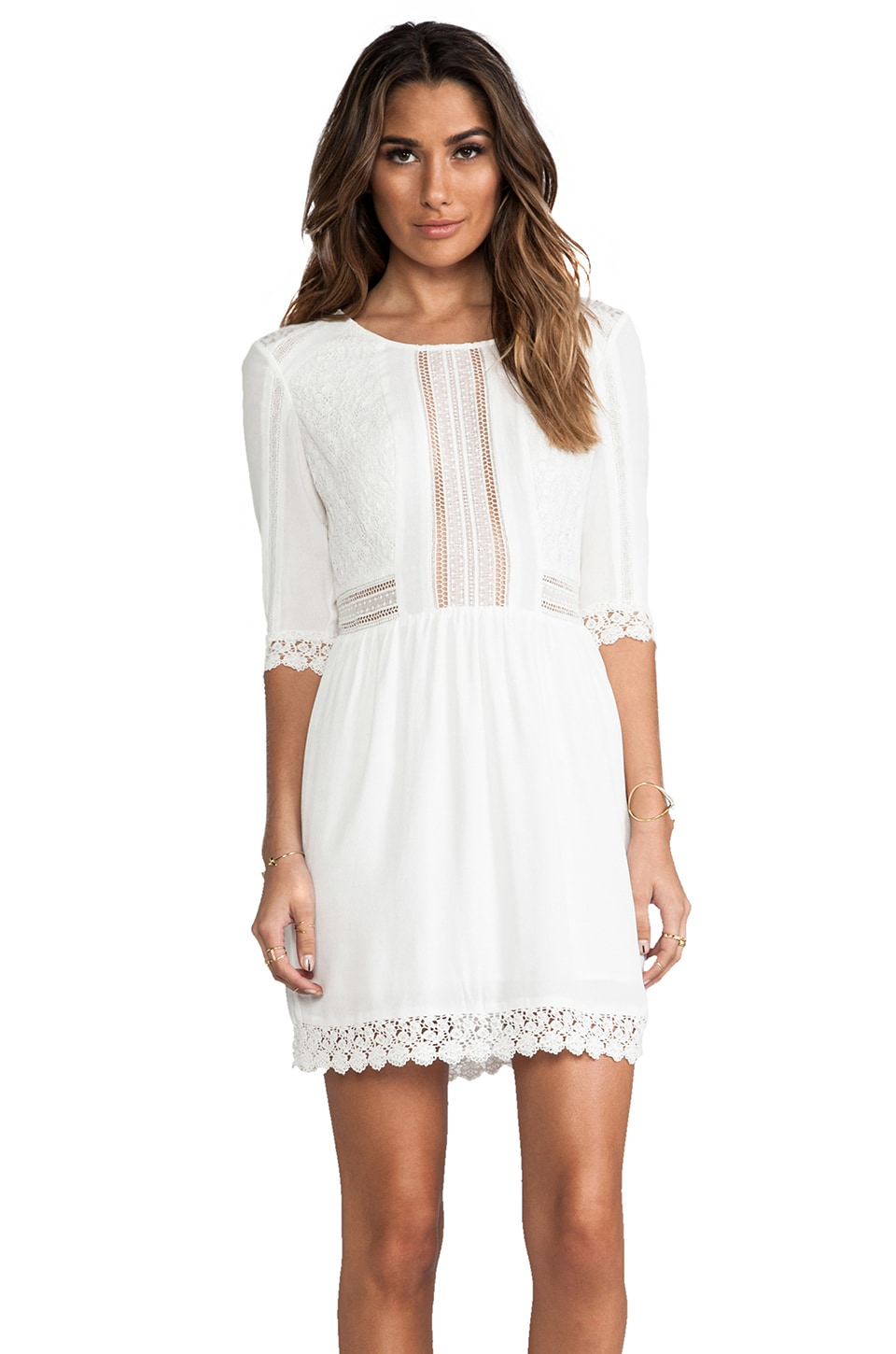 heartLoom Aimee Dress in White