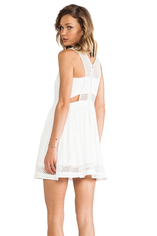 heartLoom Niko Dress in White