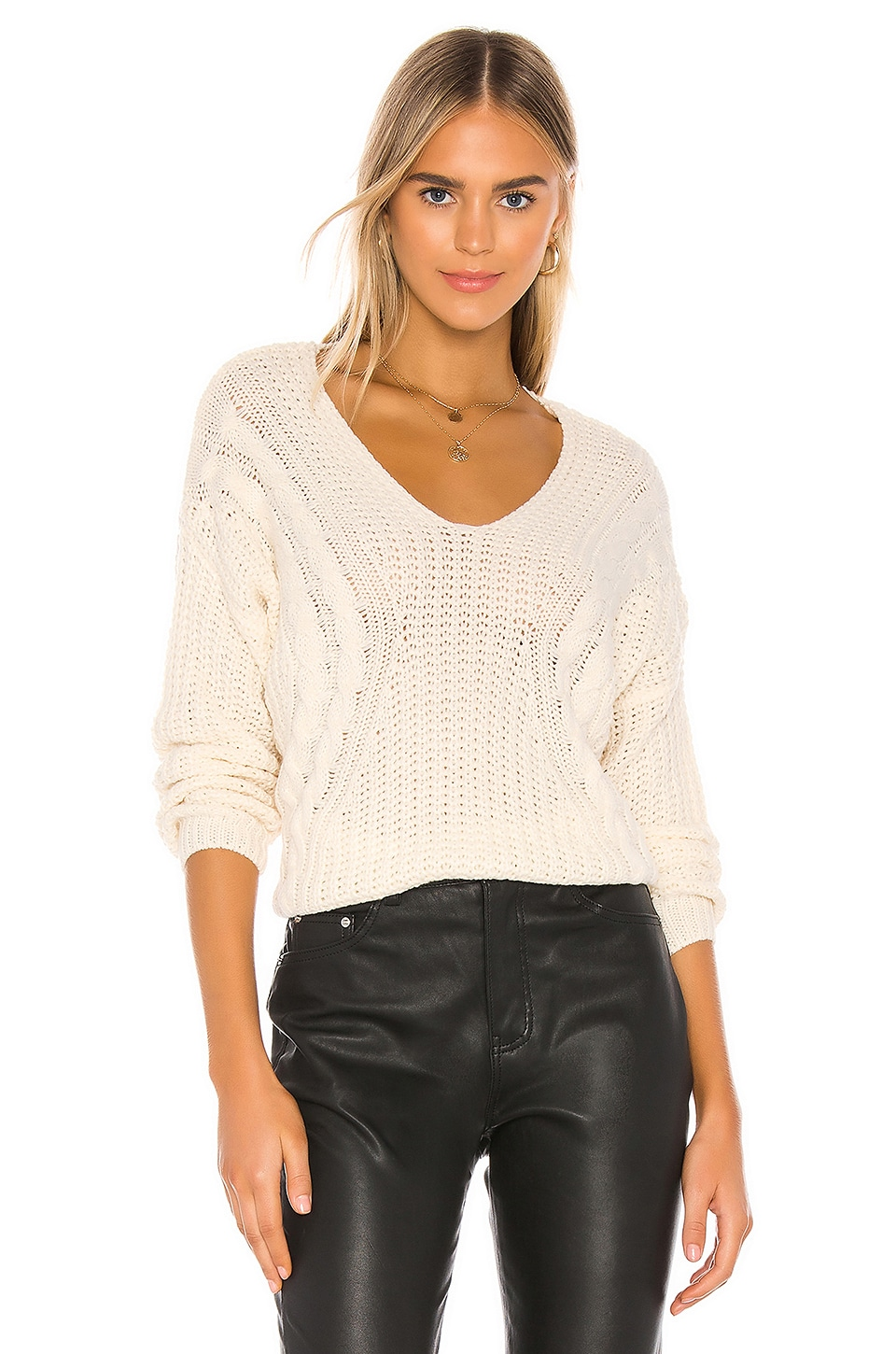 HEARTLOOM Evon Sweater in Ivory