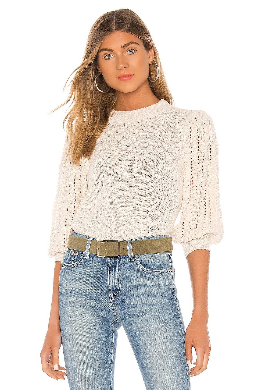 HEARTLOOM Nora Sweater in Cream
