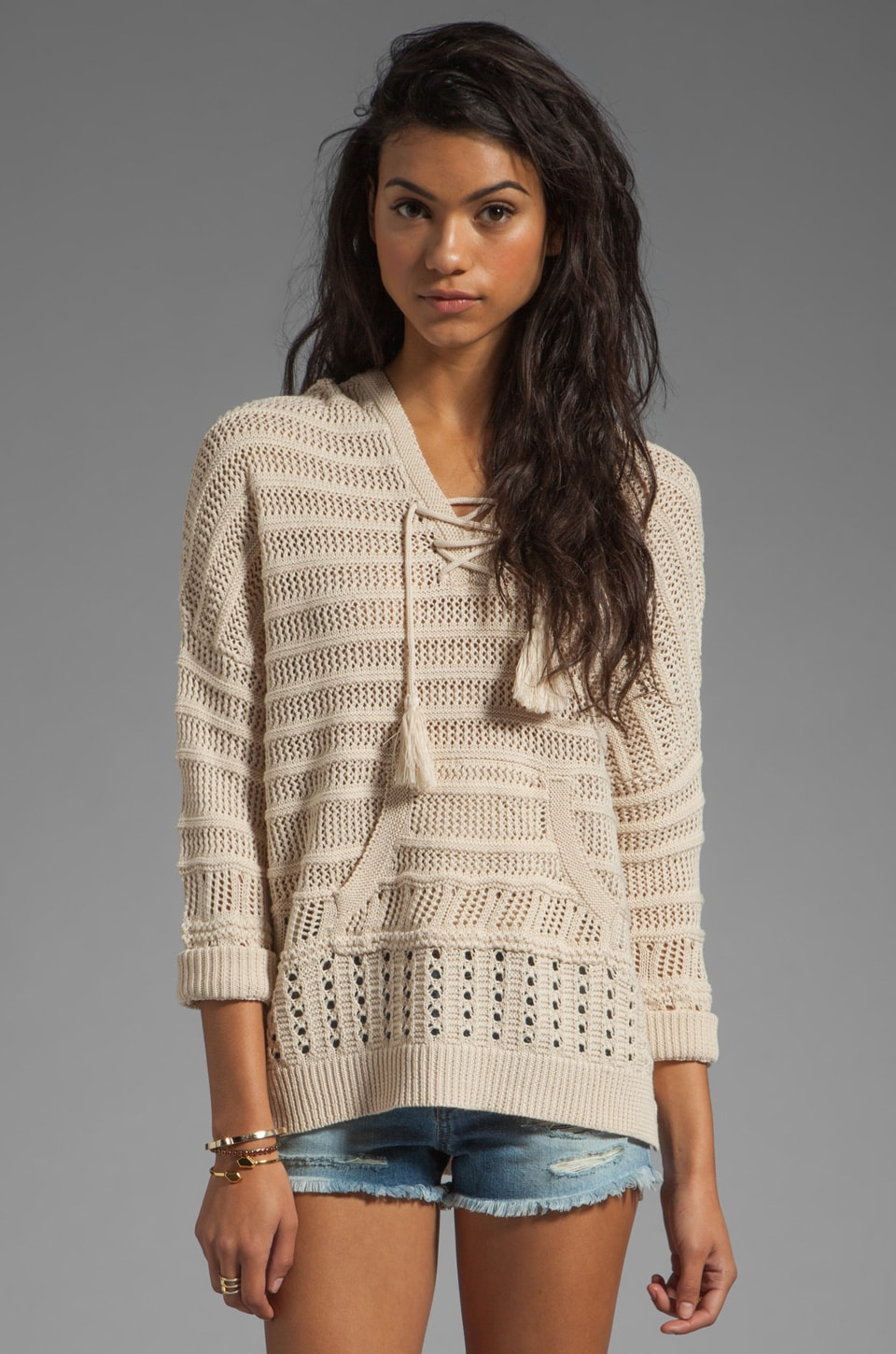 heartLoom Kent Sweater in Ecru