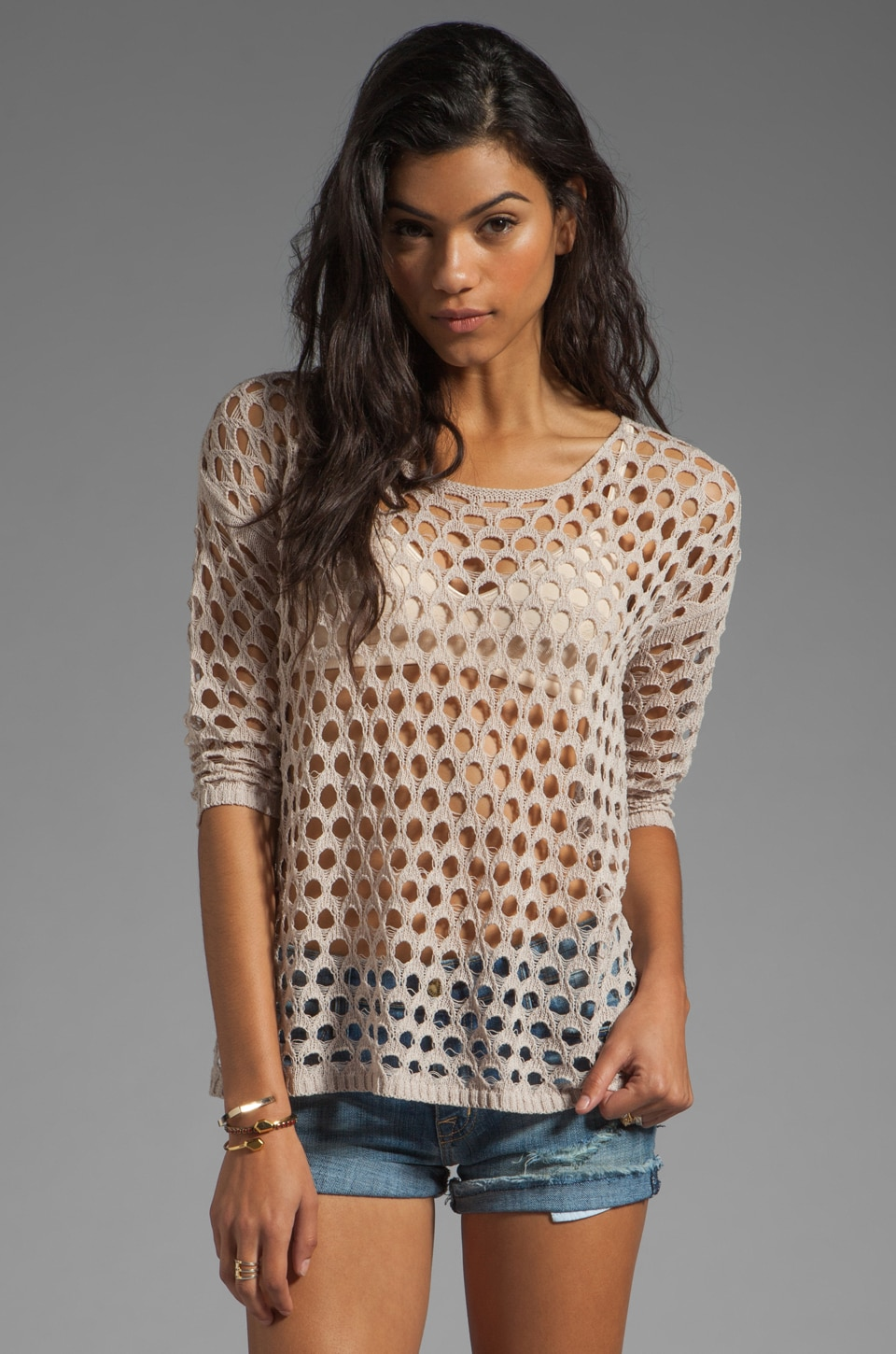 HEARTLOOM Carina Sweater in Dune