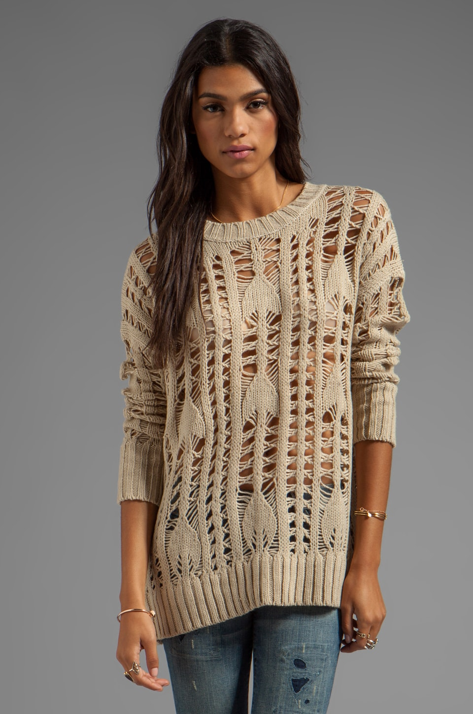 HEARTLOOM Samara Sweater in Sand