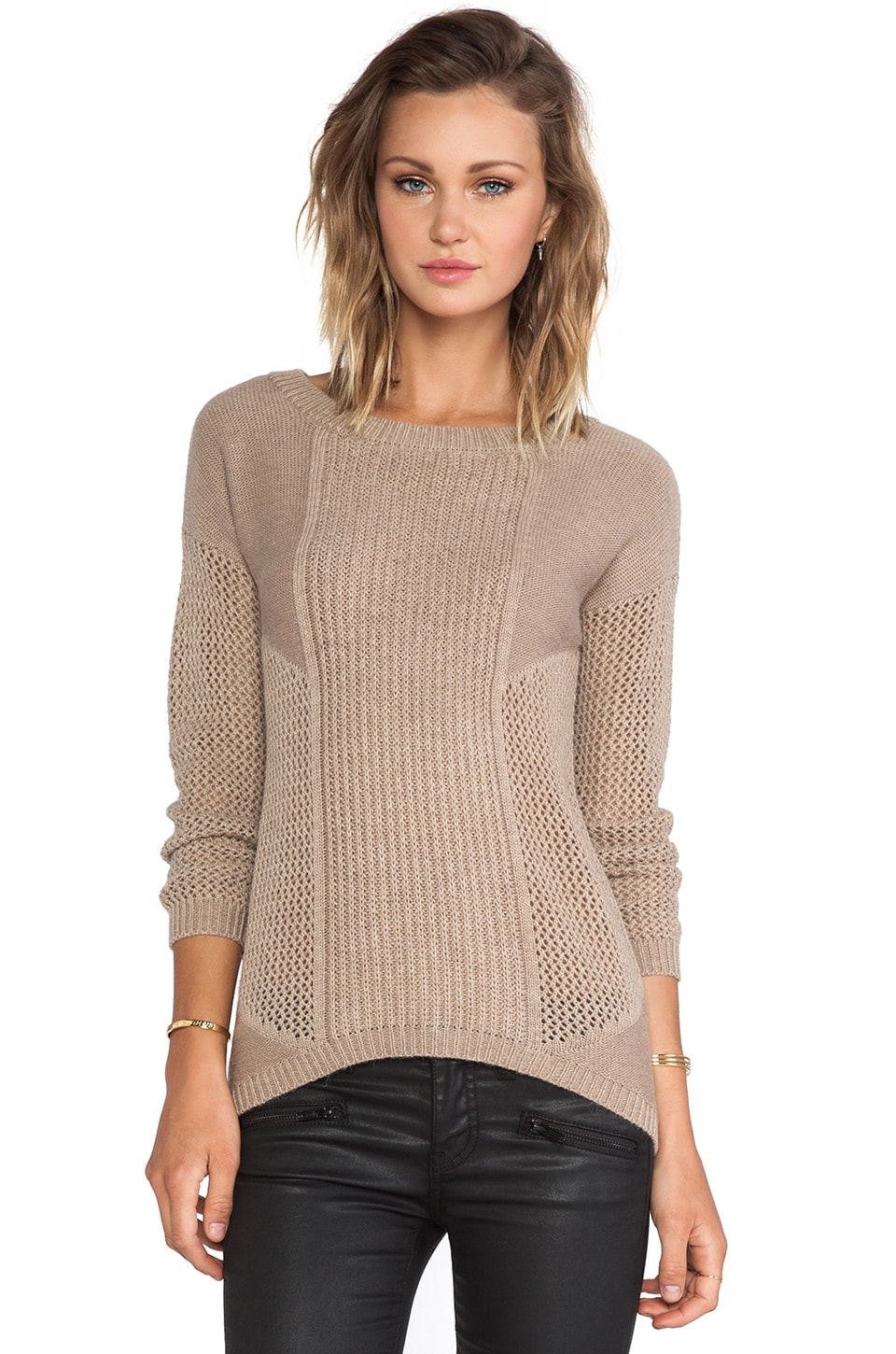 HEARTLOOM Rolo Sweater in Fox