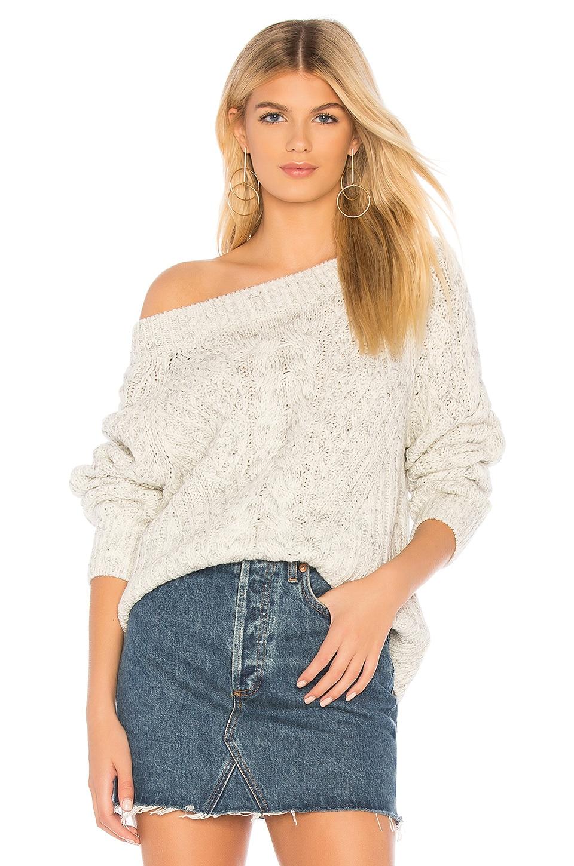 HEARTLOOM Logan Sweater in Ecru