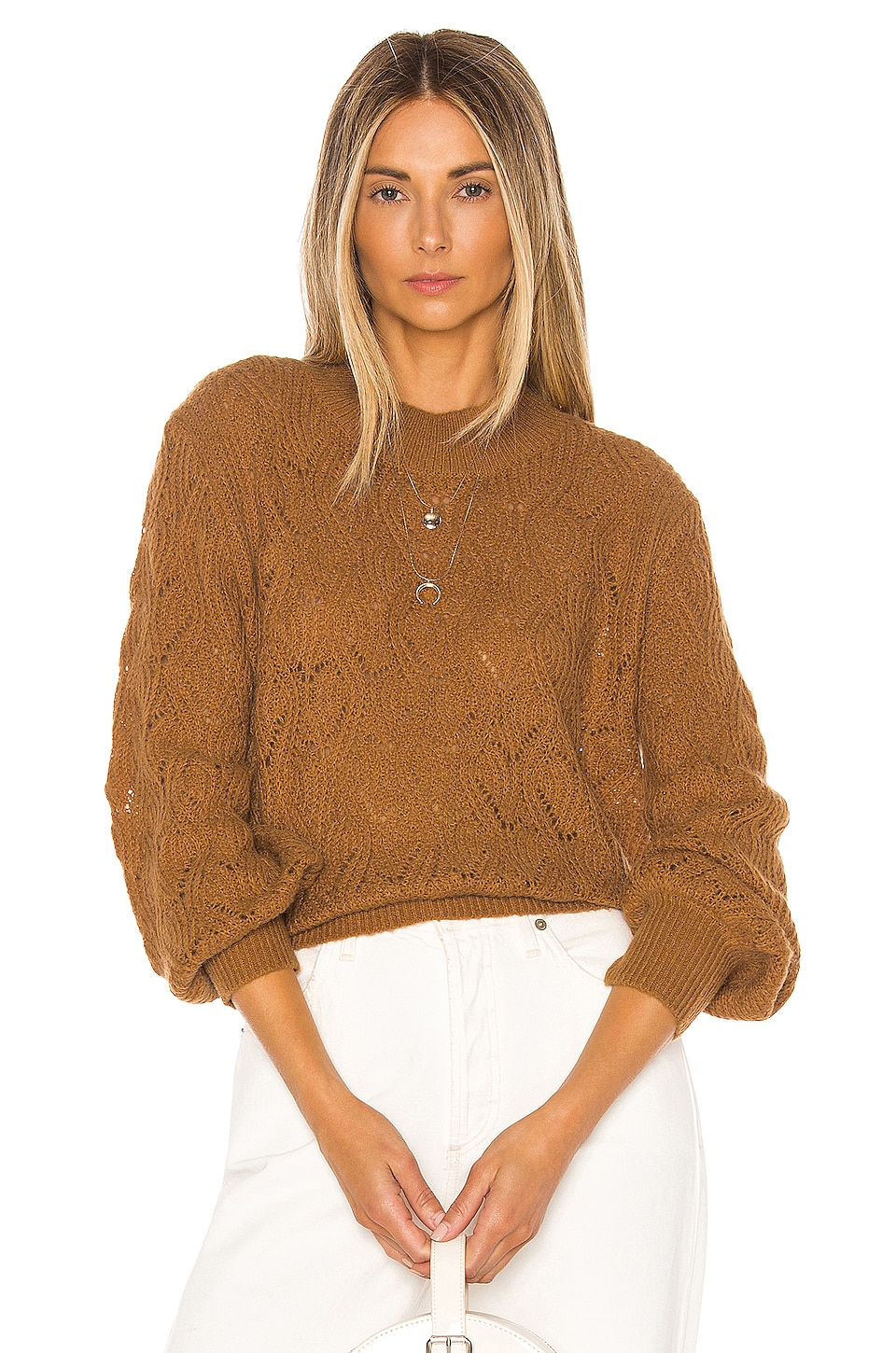 HEARTLOOM Millie Pullover in Spice