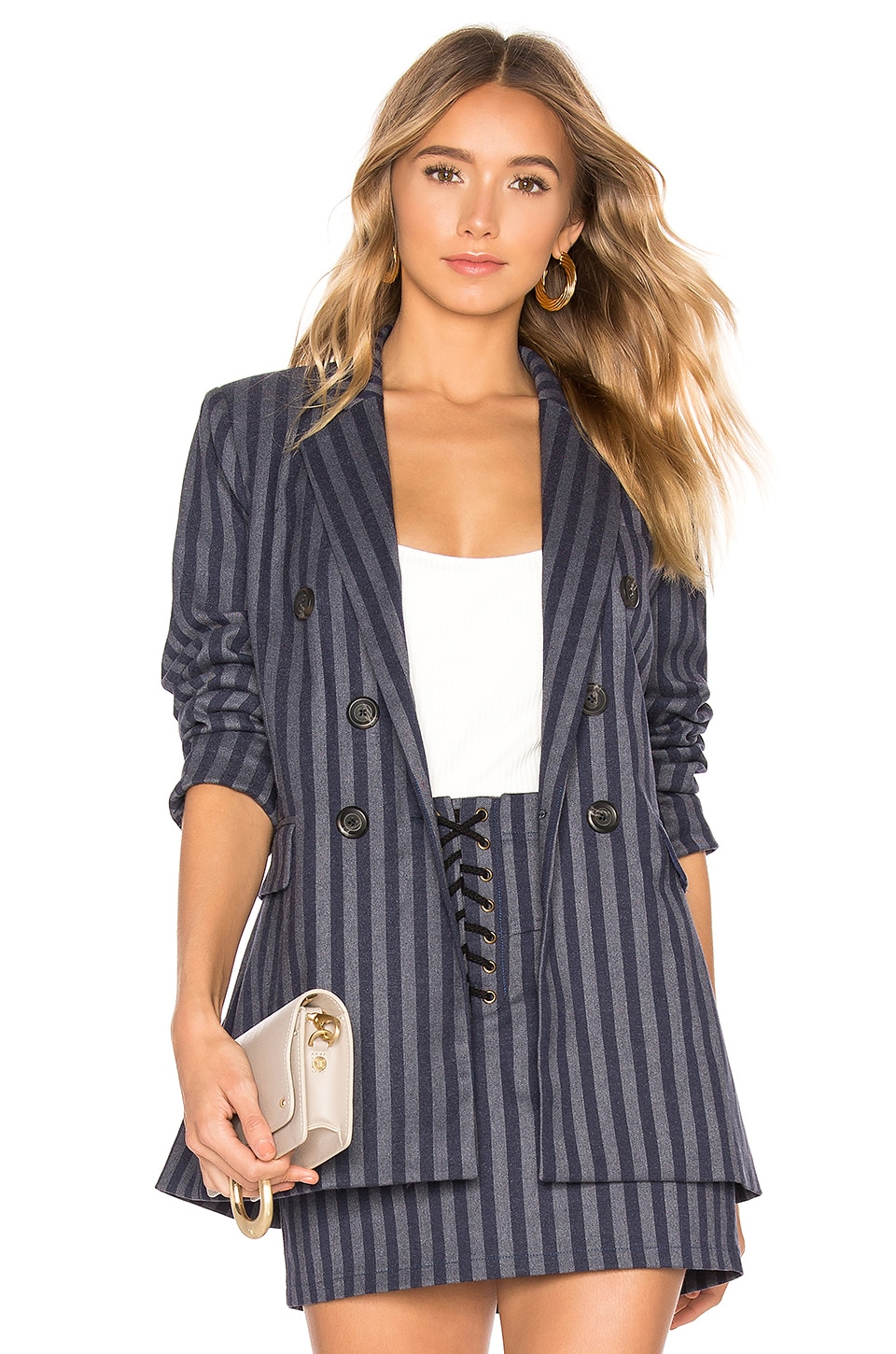 HEARTLOOM Ivy Blazer in Stripe