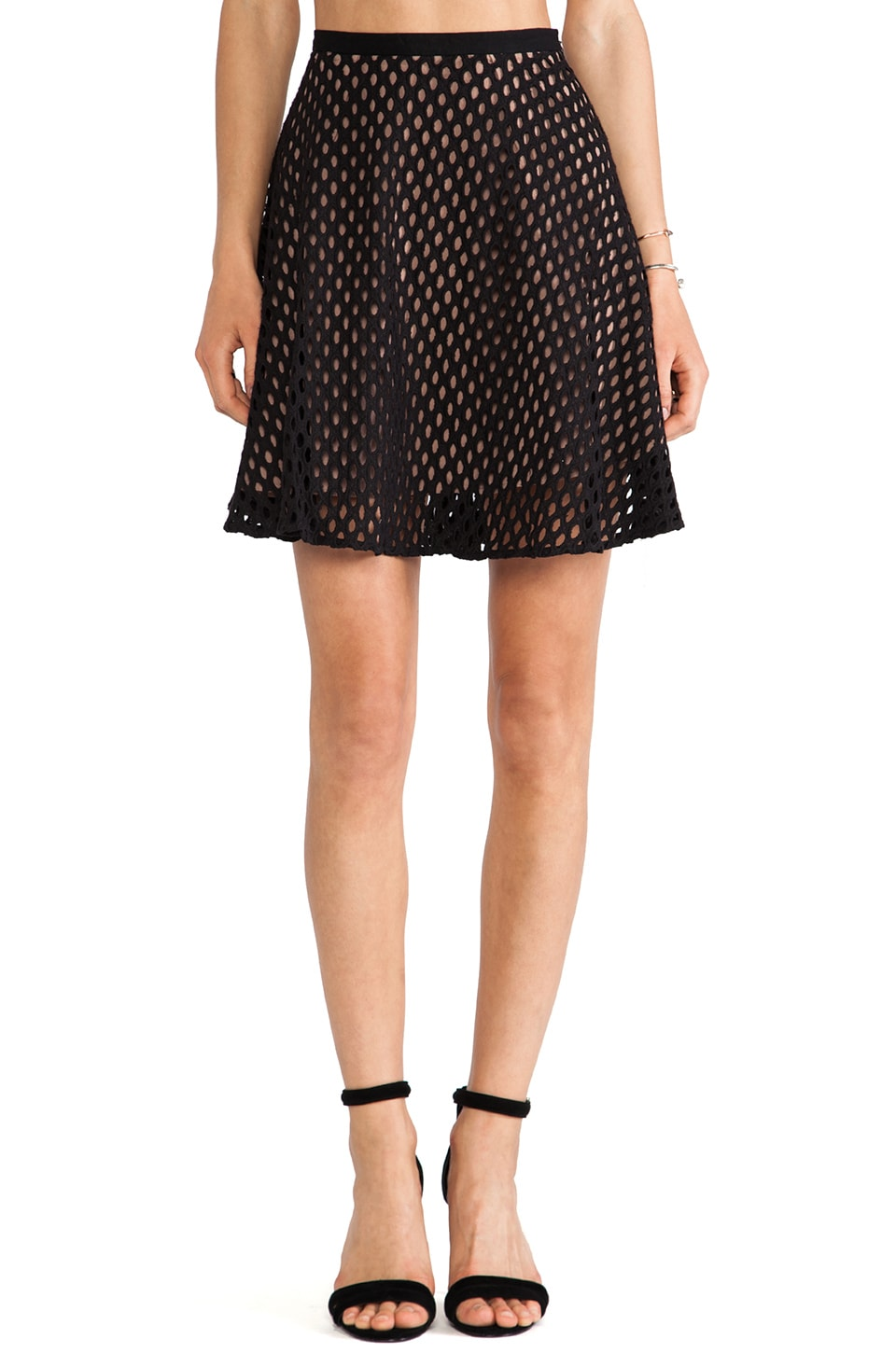 HEARTLOOM Harmon Skirt in Black