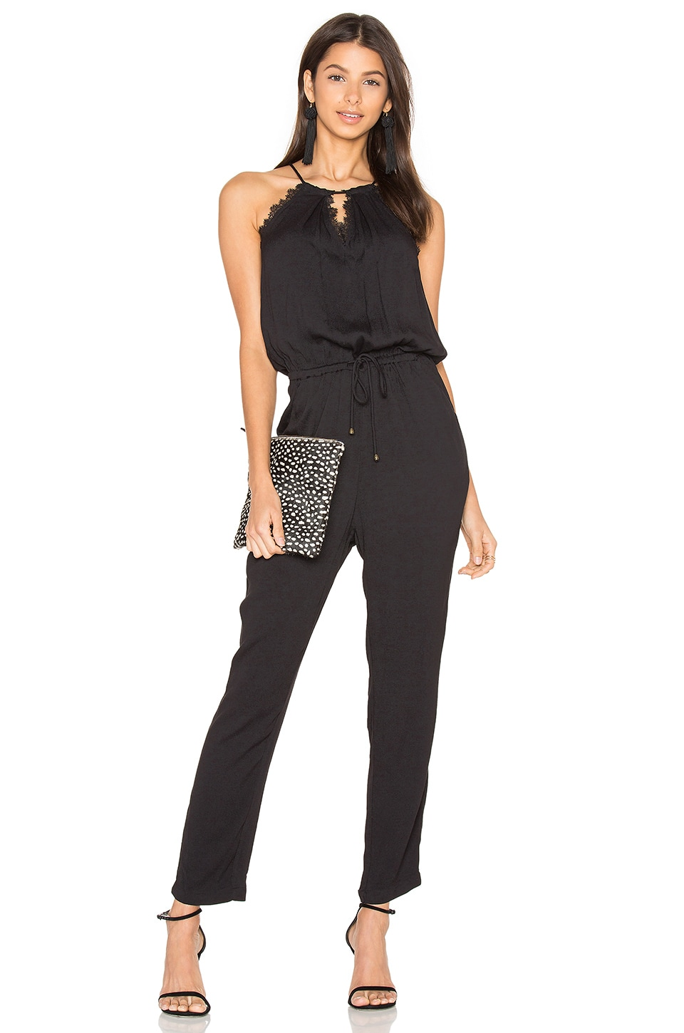 HEARTLOOM Sora Jumpsuit in Black