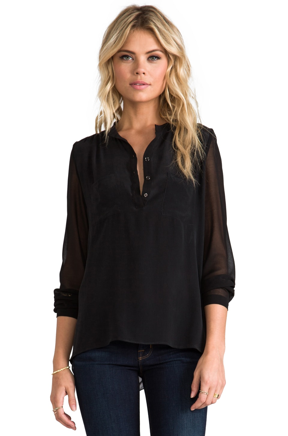 heartLoom Victoria Top in Black