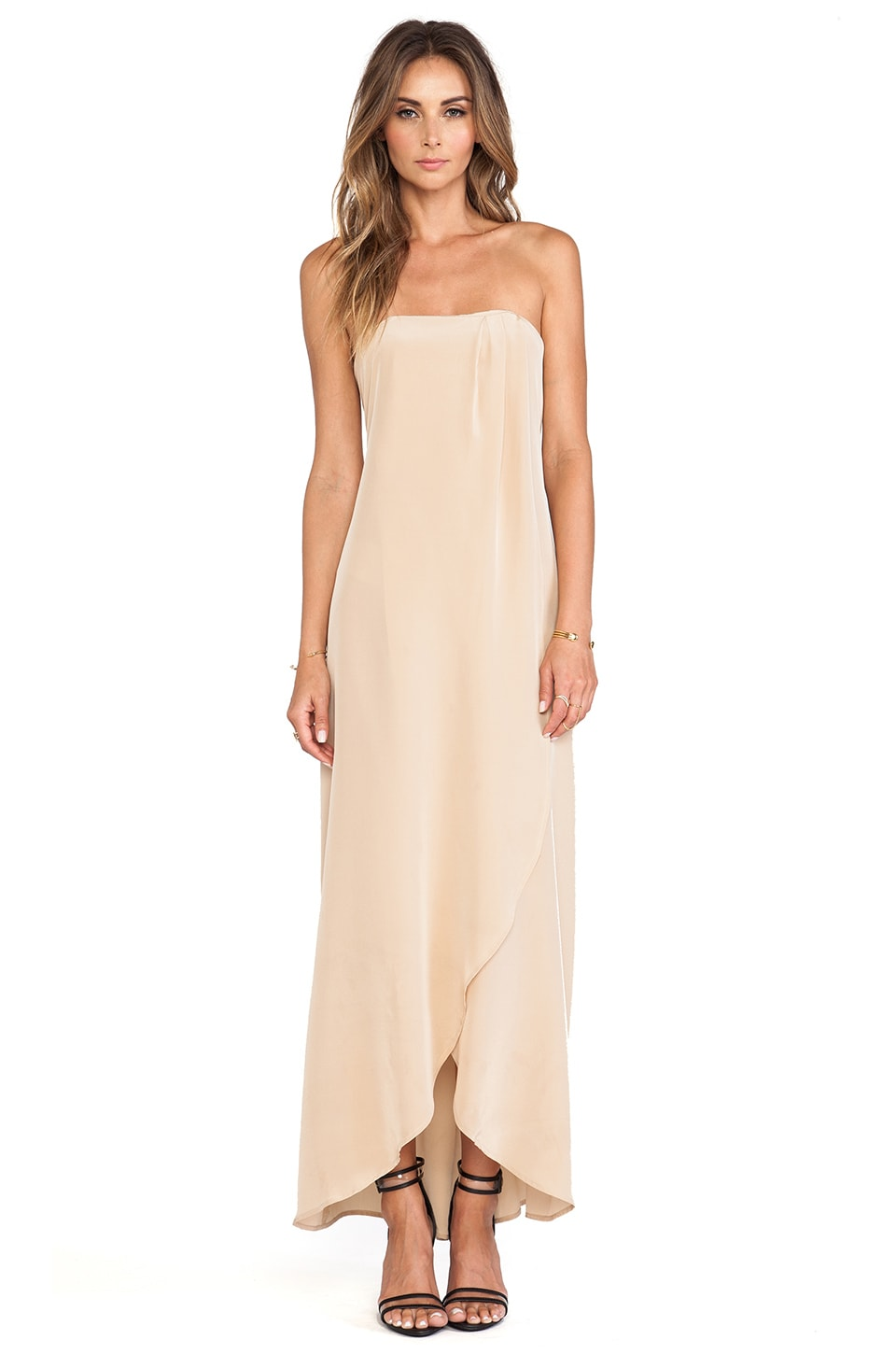 Helena Quinn Karin Maxi Dress in Cream