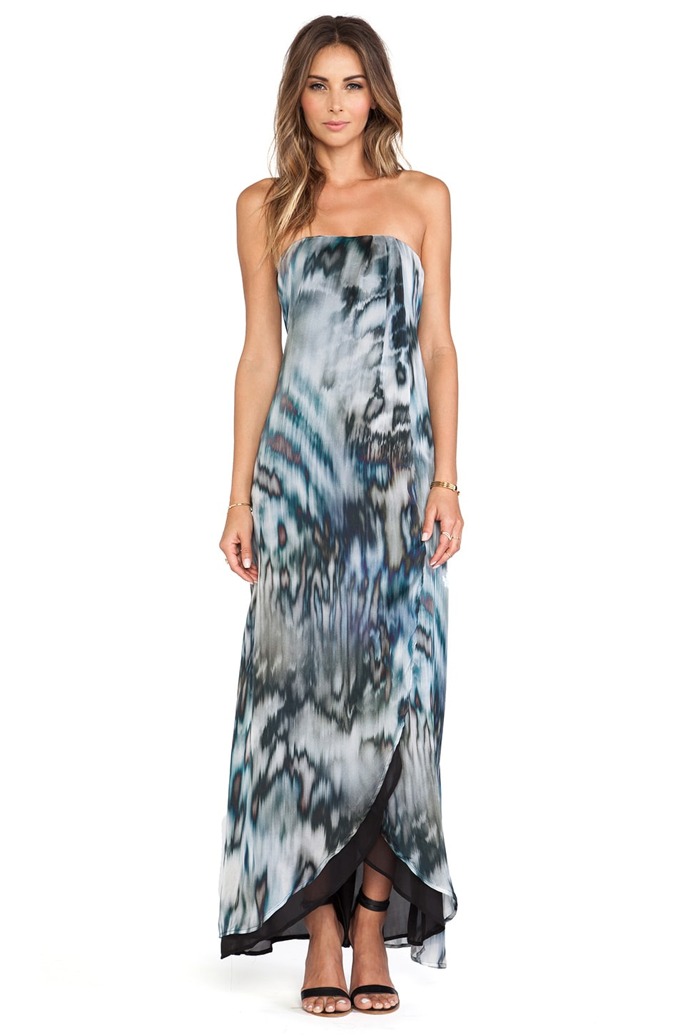 Helena Quinn Karin Maxi Dress in Weather Print