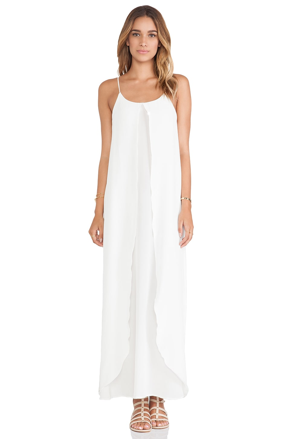 Helena Quinn Isla Maxi Dress in White