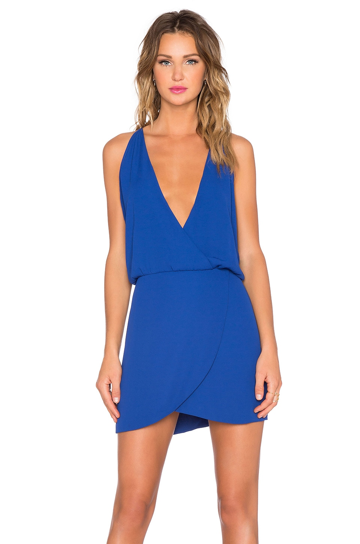 Helena Quinn Sam Mini Dress in Cobalt
