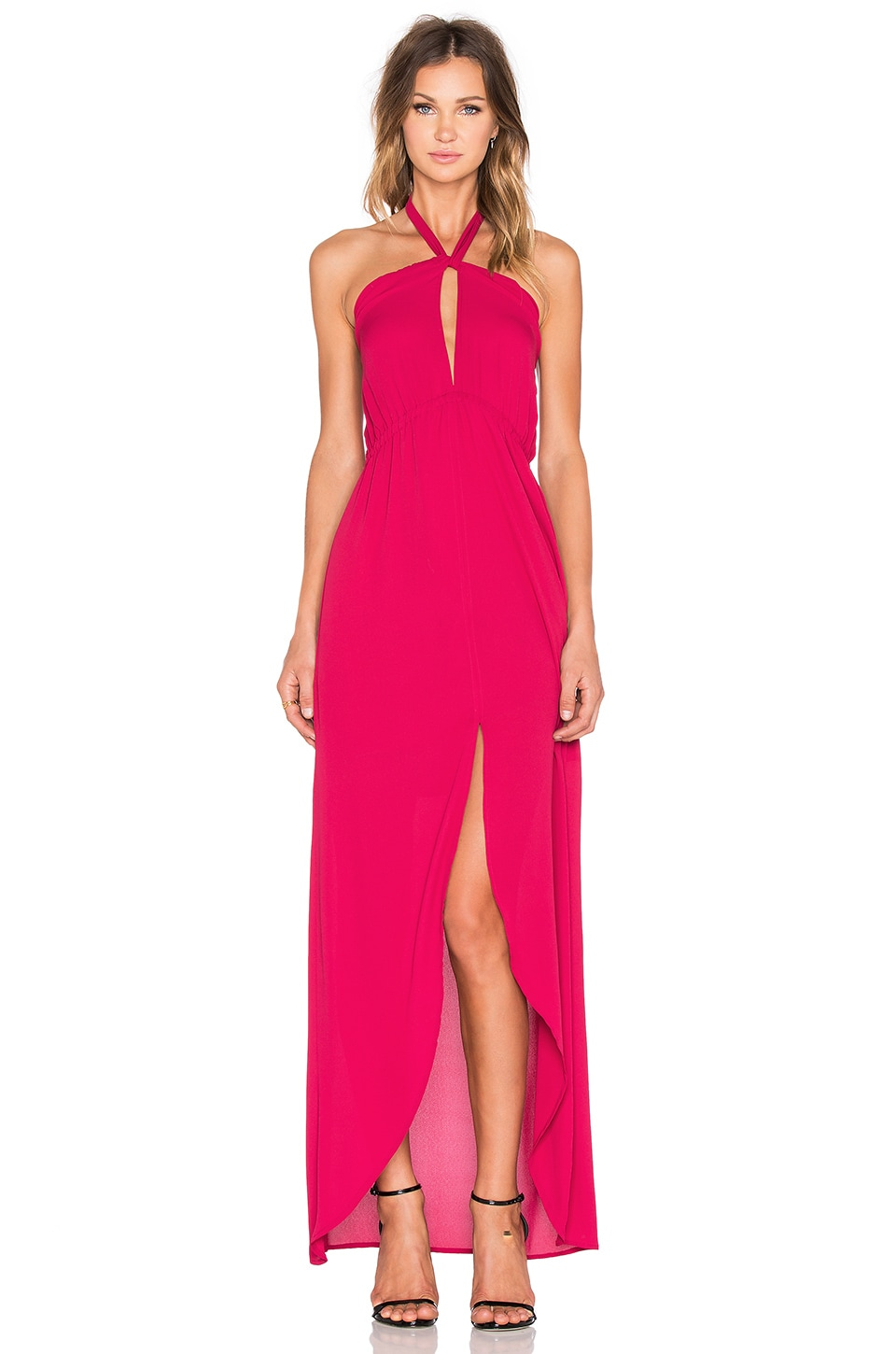 Helena Quinn Mariella Maxi Dress in Red