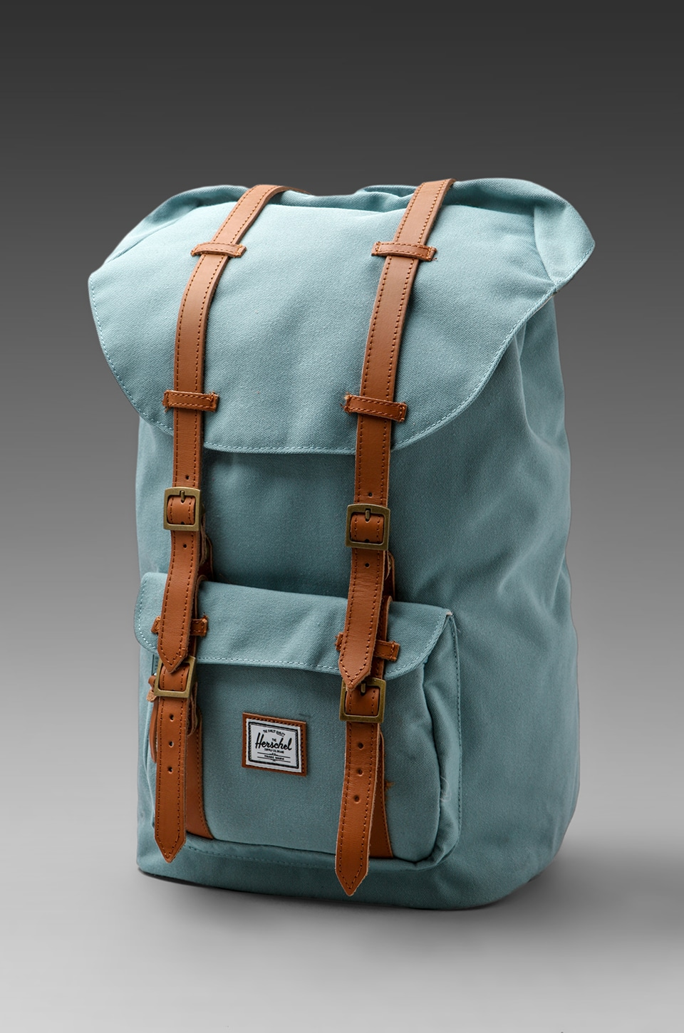 Herschel Supply Co. Bad Hills Workshop Little America/Bird Lining in Sea Foam