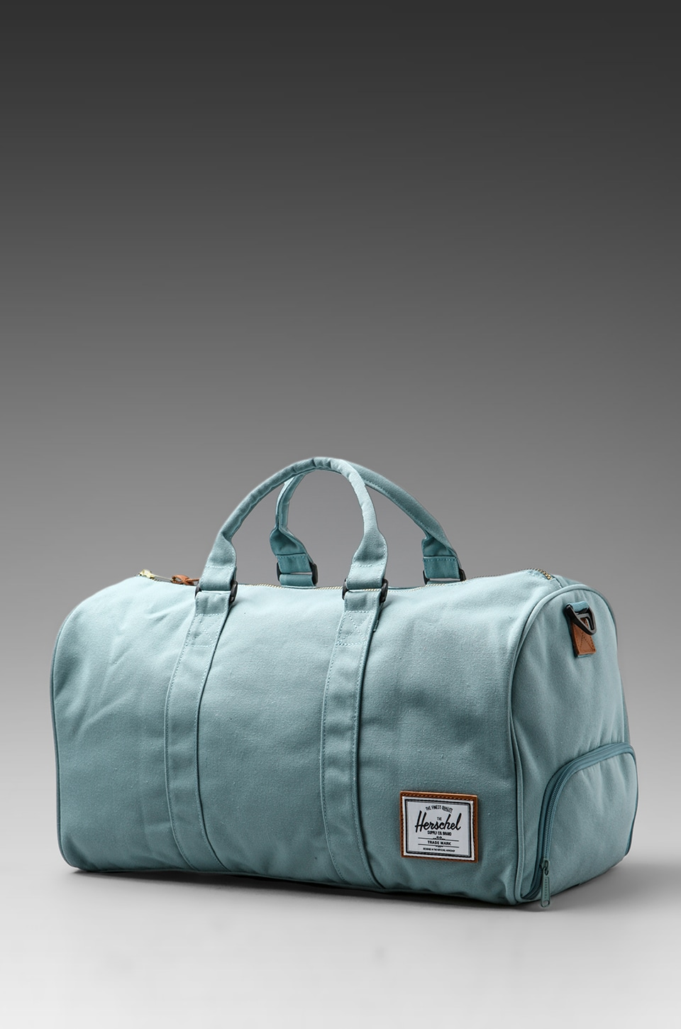 Herschel Supply Co. Bad Hills Workshop Novel Duffle in Seam Foam w. Bird Lining