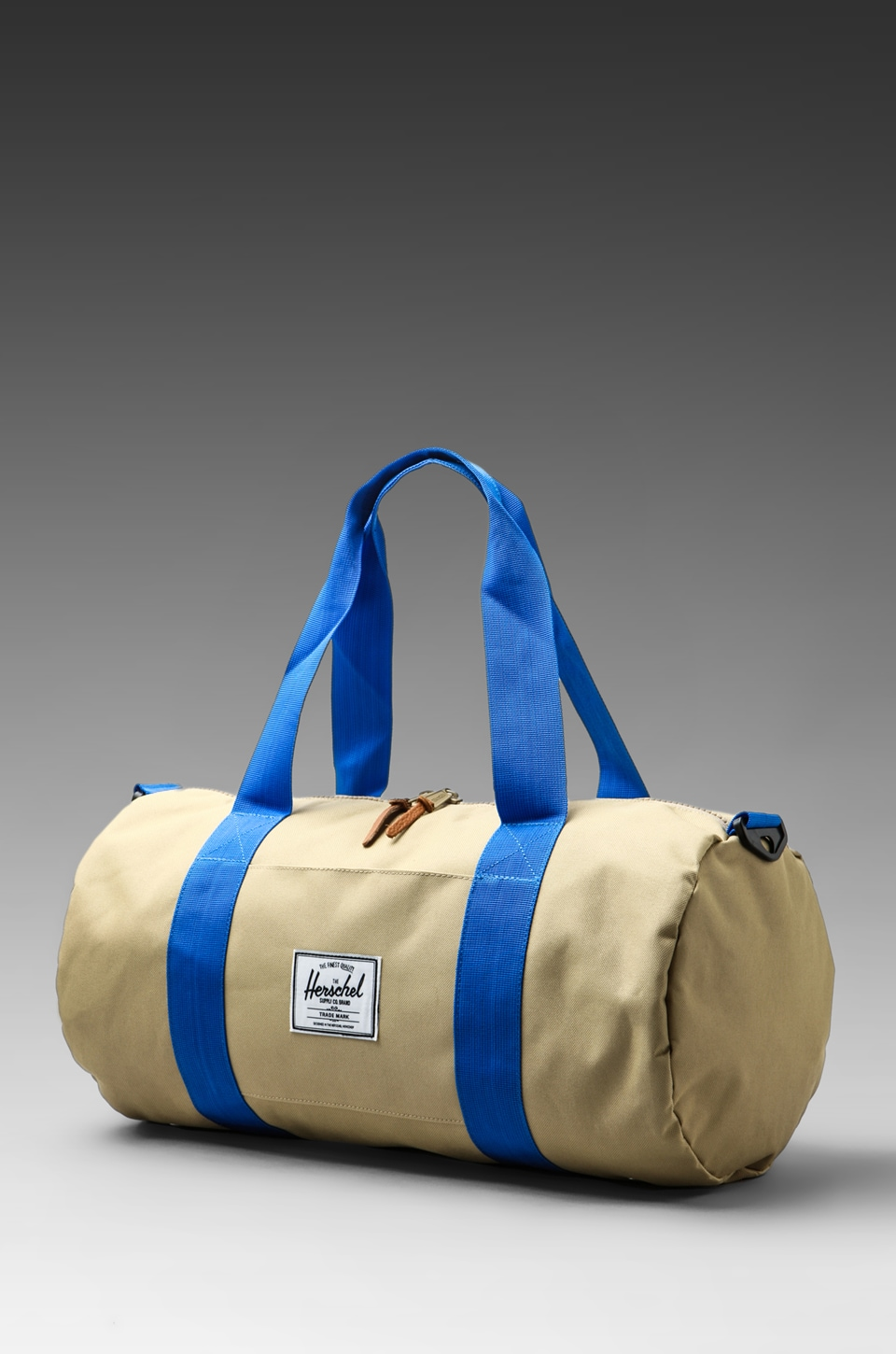 Herschel Supply Co. Sutton Bag Mid Size Duffle in Khaki/Cobalt