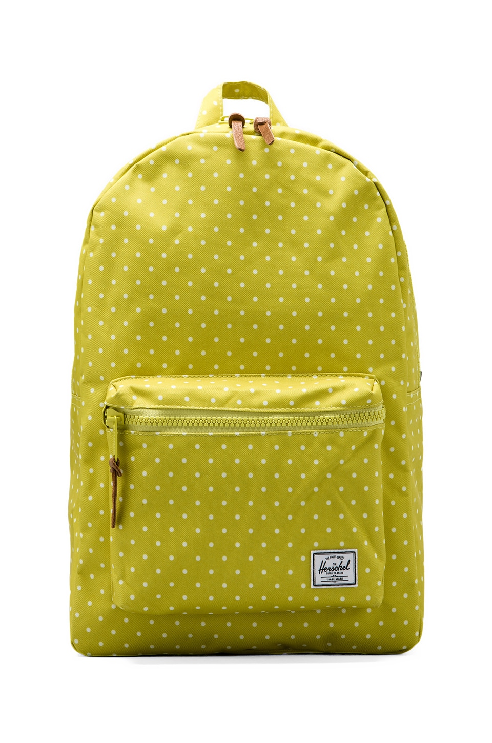 Herschel Supply Co. Settlement Polka Dot Backpack in Apple/White