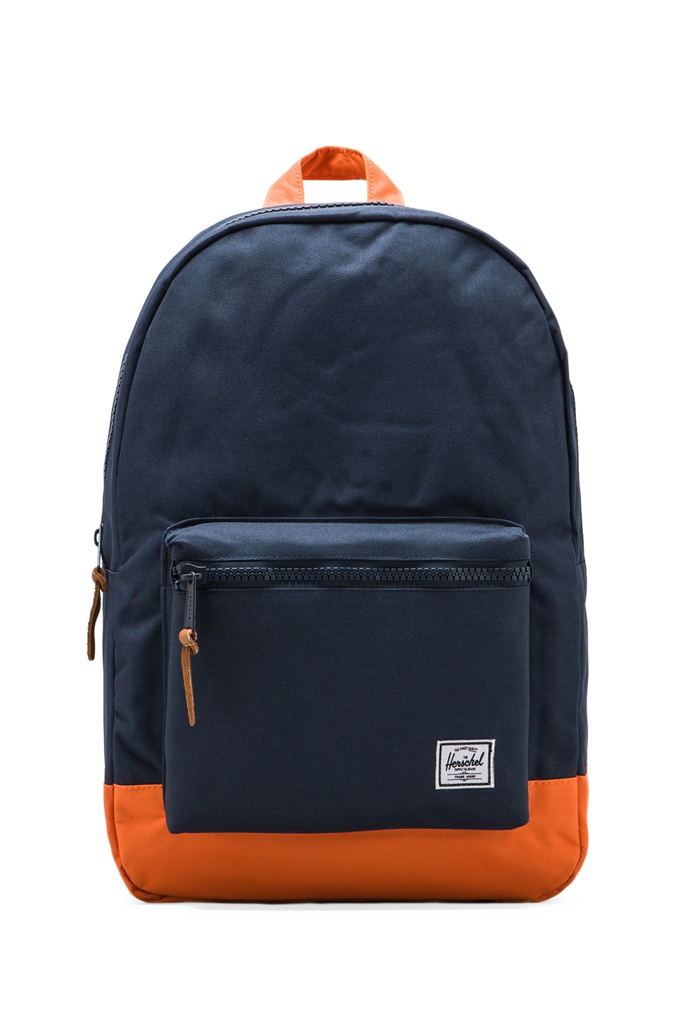 Herschel Supply Co. Settlement Backpack in Navy/Mandarin