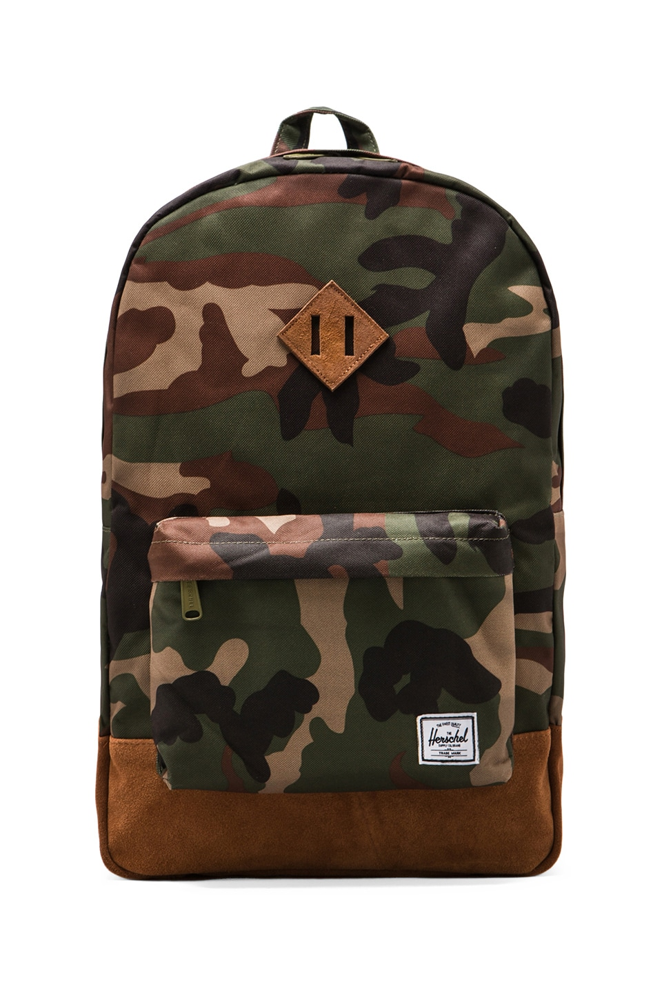Herschel Supply Co. Heritage Suede Series Backpack in Camo