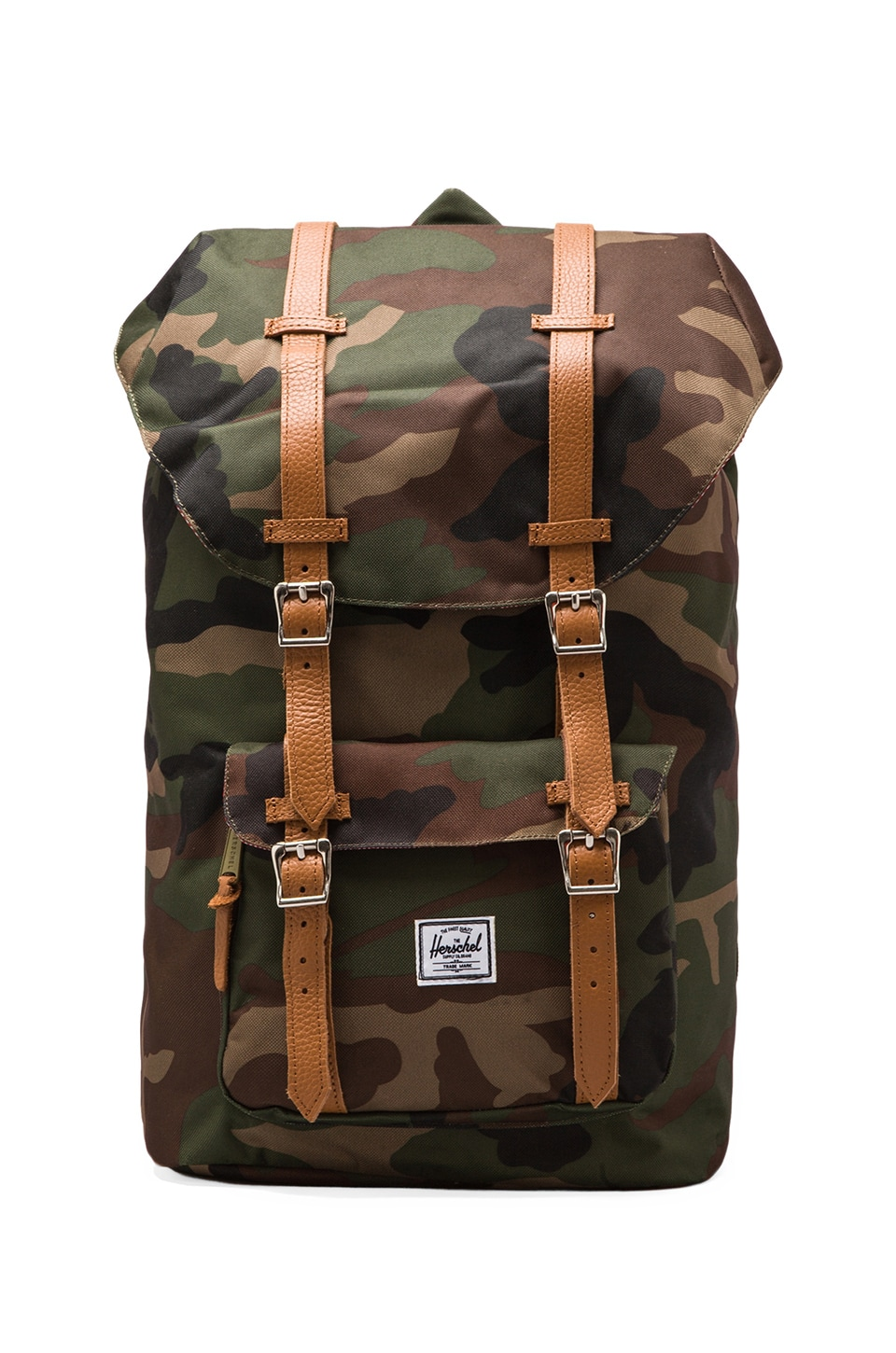 Herschel Supply Co. Sac à dos Little America en Camouflage