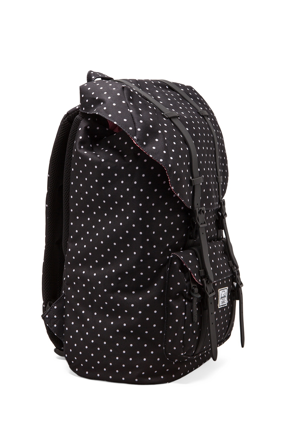 Herschel Supply Co. Little America Polka Dot in Black/ White