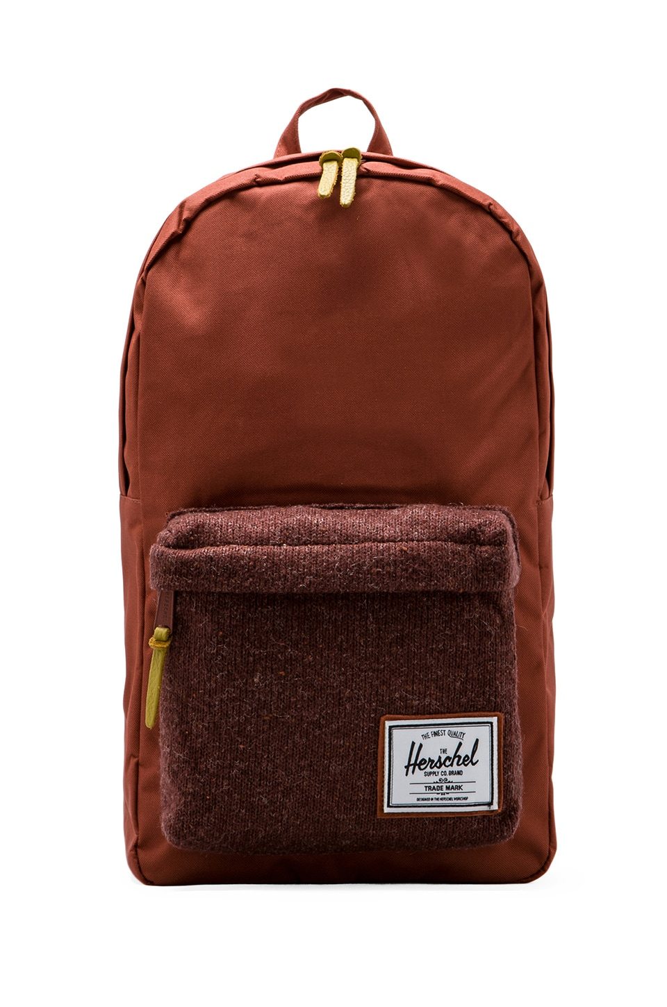 Herschel Supply Co. Woodside Knitted Collection Backpack in Rust