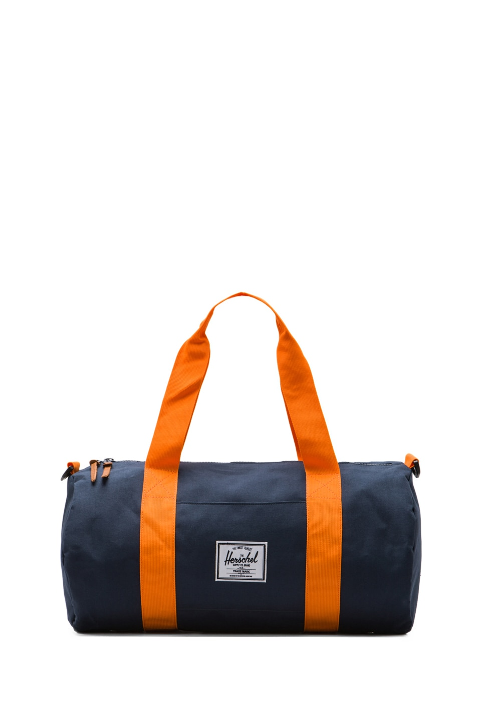 Herschel Supply Co. Sutton Mid Duffle in Navy/Mandarin