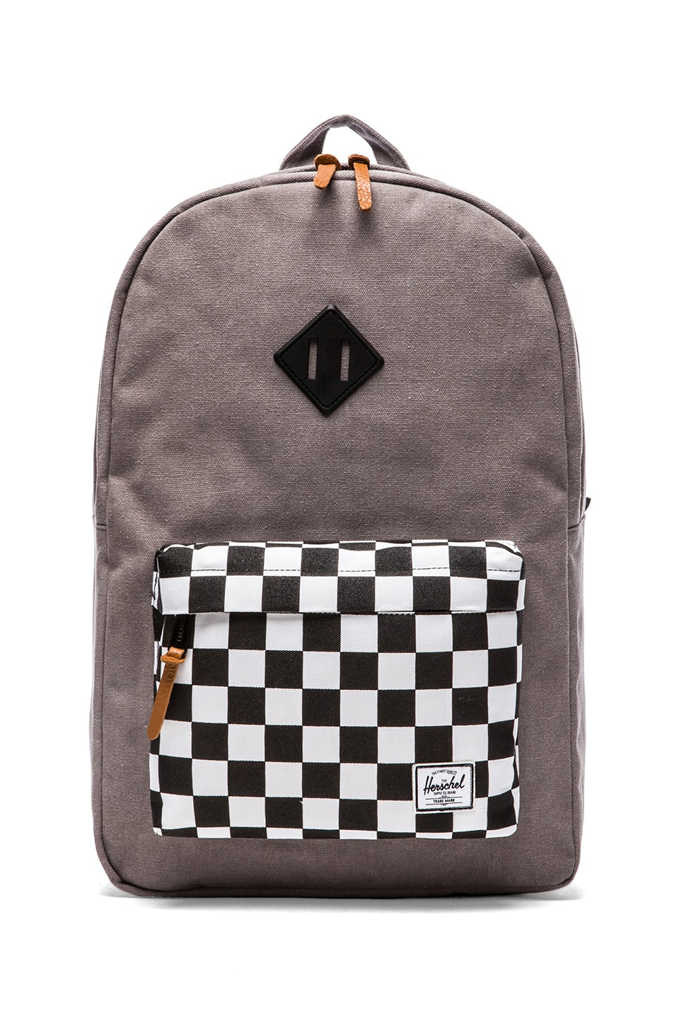 Herschel Supply Co. Heritage Canvas Collection in Washed Black & Checkerboard