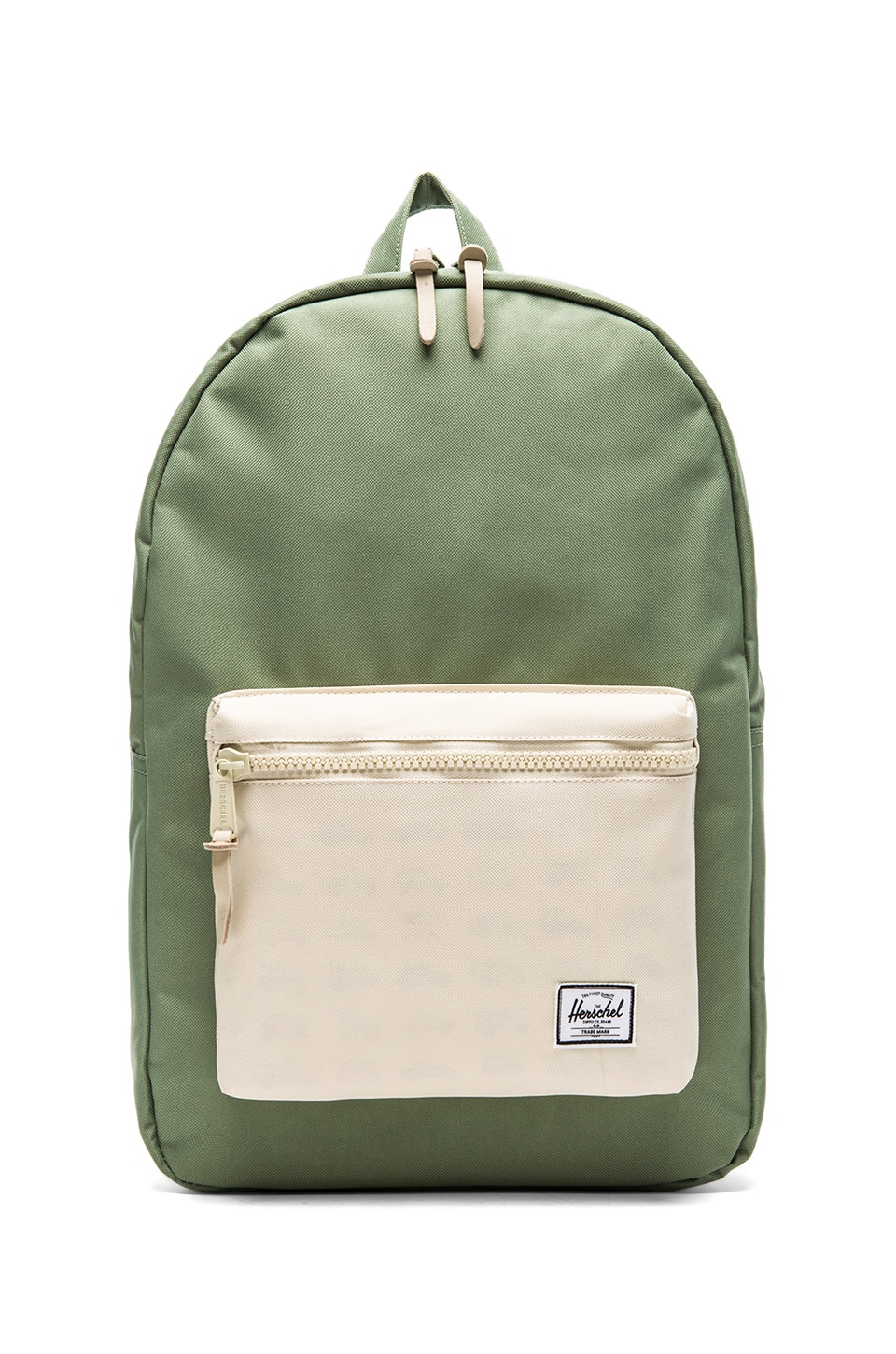 Herschel Supply Co. Rad Cars Collection Settlement Backpack in Defender Green & Bone