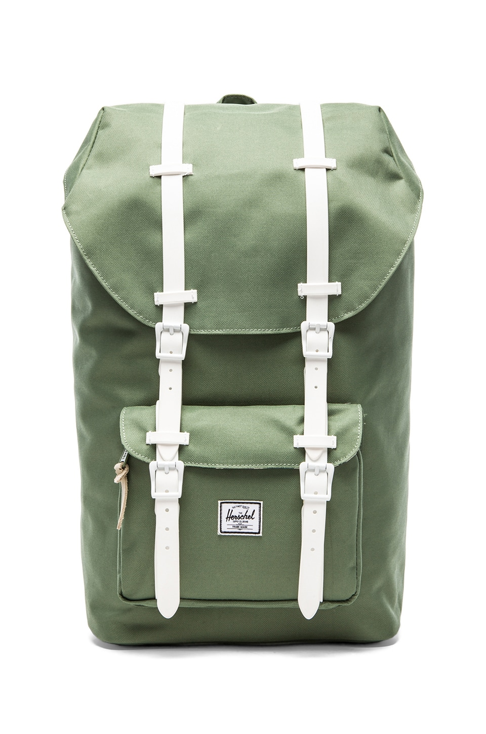 Herschel Supply Co. Rad Cars Collection Little America Backpack in Defender Green & Bone