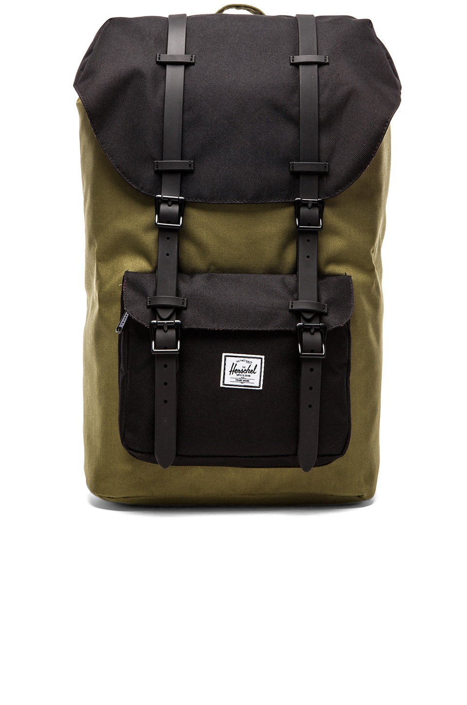 Herschel Supply Co. Little America in Army & Black