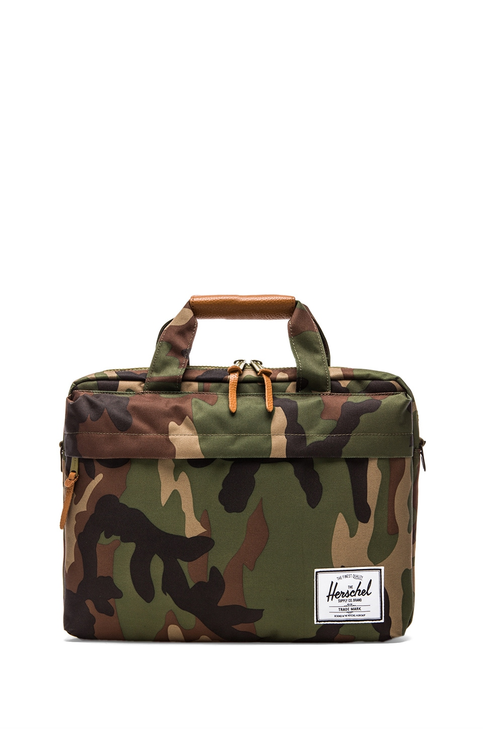 Herschel Supply Co. Clark Briefcase in Woodland Camo
