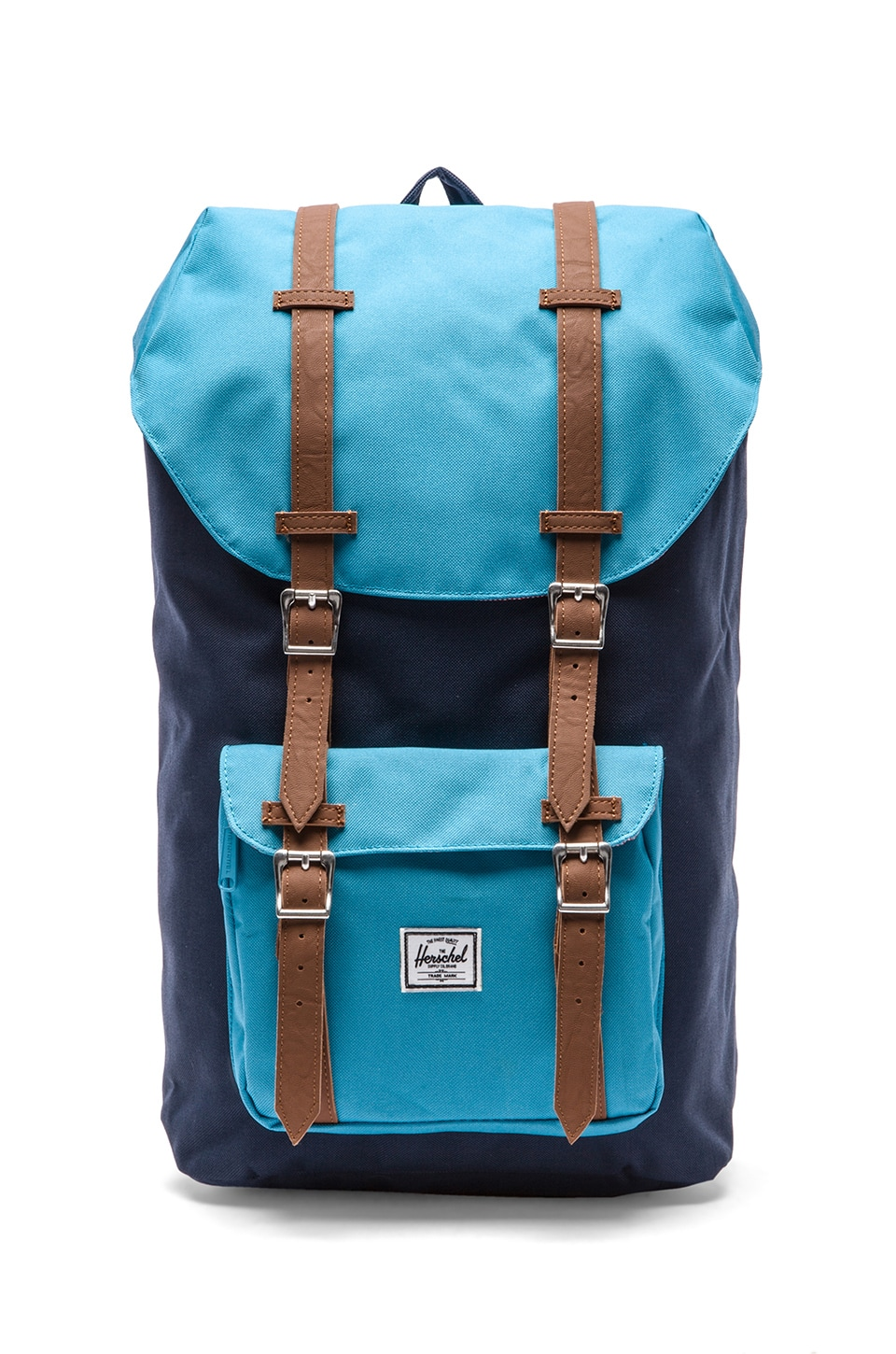 Herschel Supply Co. Little America Backpack in Navy & Cyan