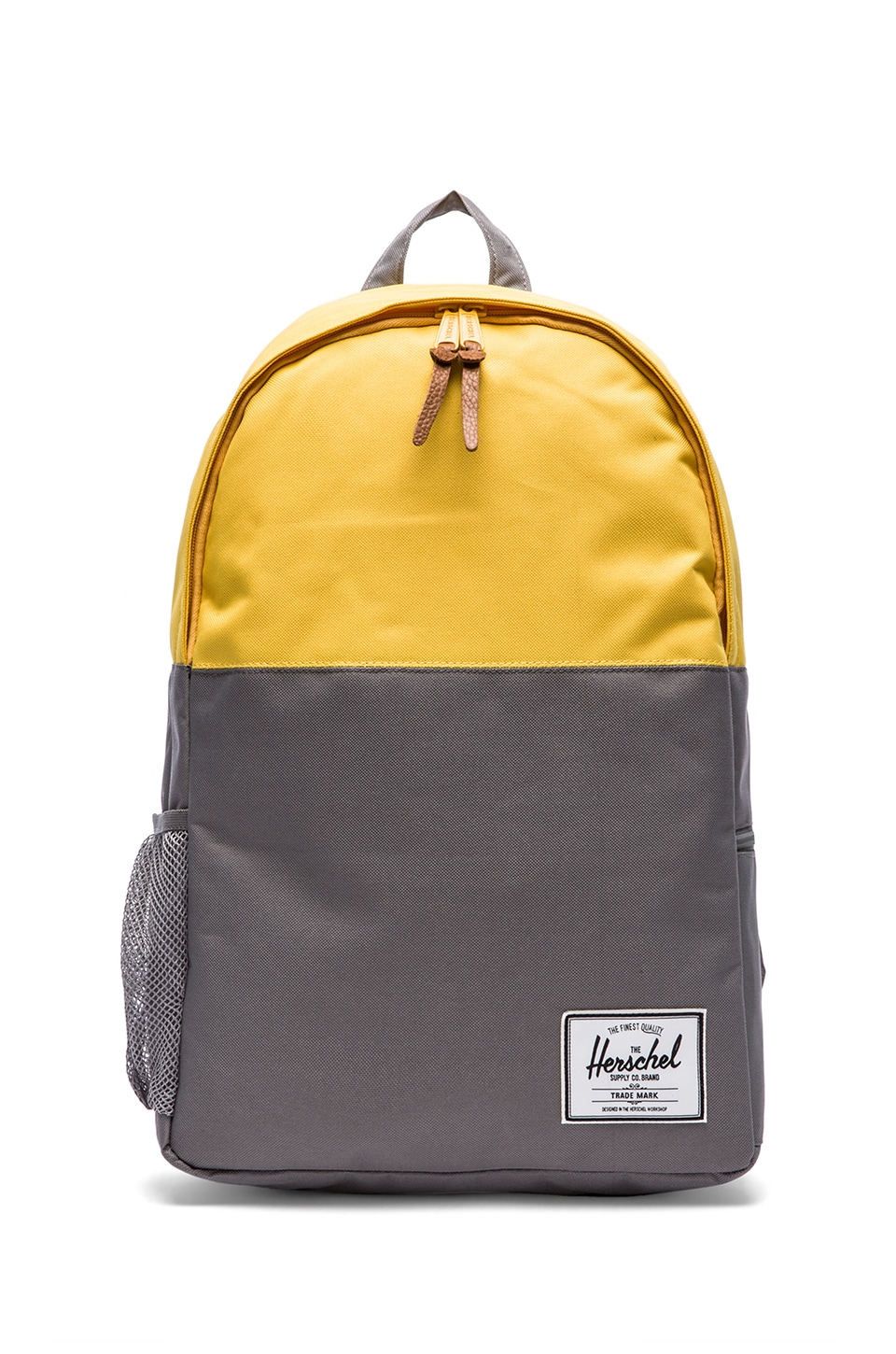 Herschel Supply Co. Jasper Backpack in Grey & Sunsoaked