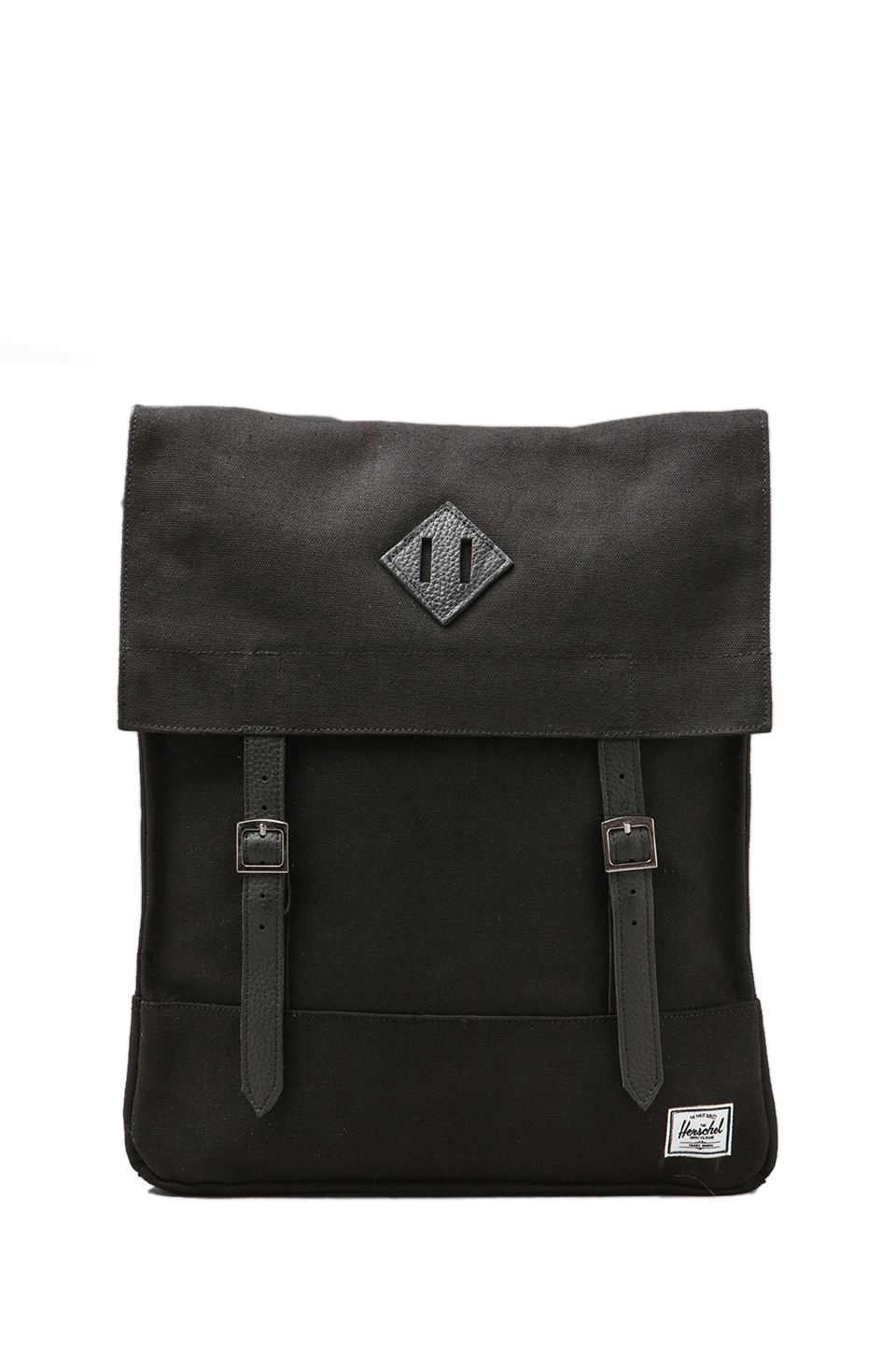 Herschel Supply Co. Canvas Collection Survey Backpack in Black