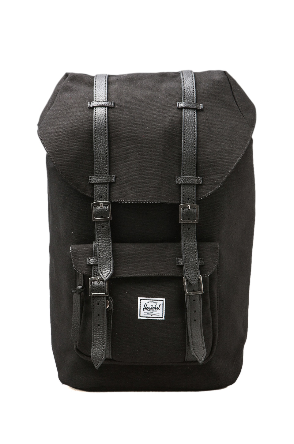 Herschel Supply Co. Canvas Collection Little America Backpack in Black
