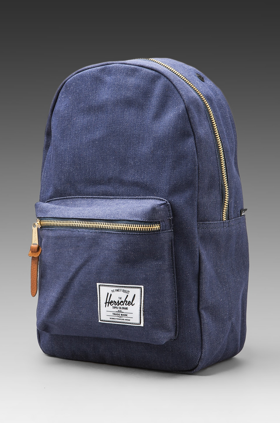 Herschel Supply Co. Denim Collection Settlement Backpack in Dark Denim