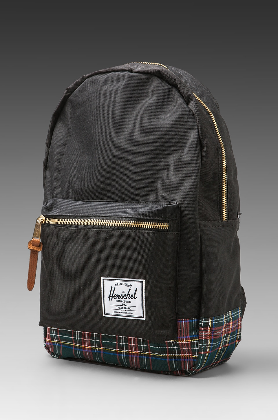 Herschel Supply Co. Tartan Collection Settlement in Black