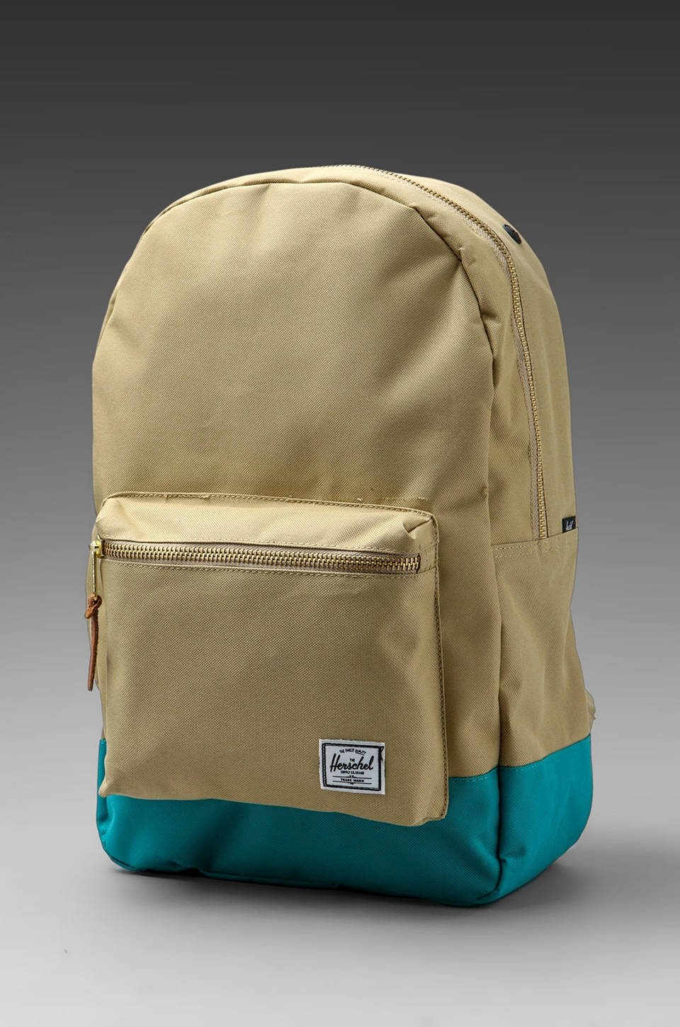Herschel Supply Co. Settlement Backpack in Khaki/Teal