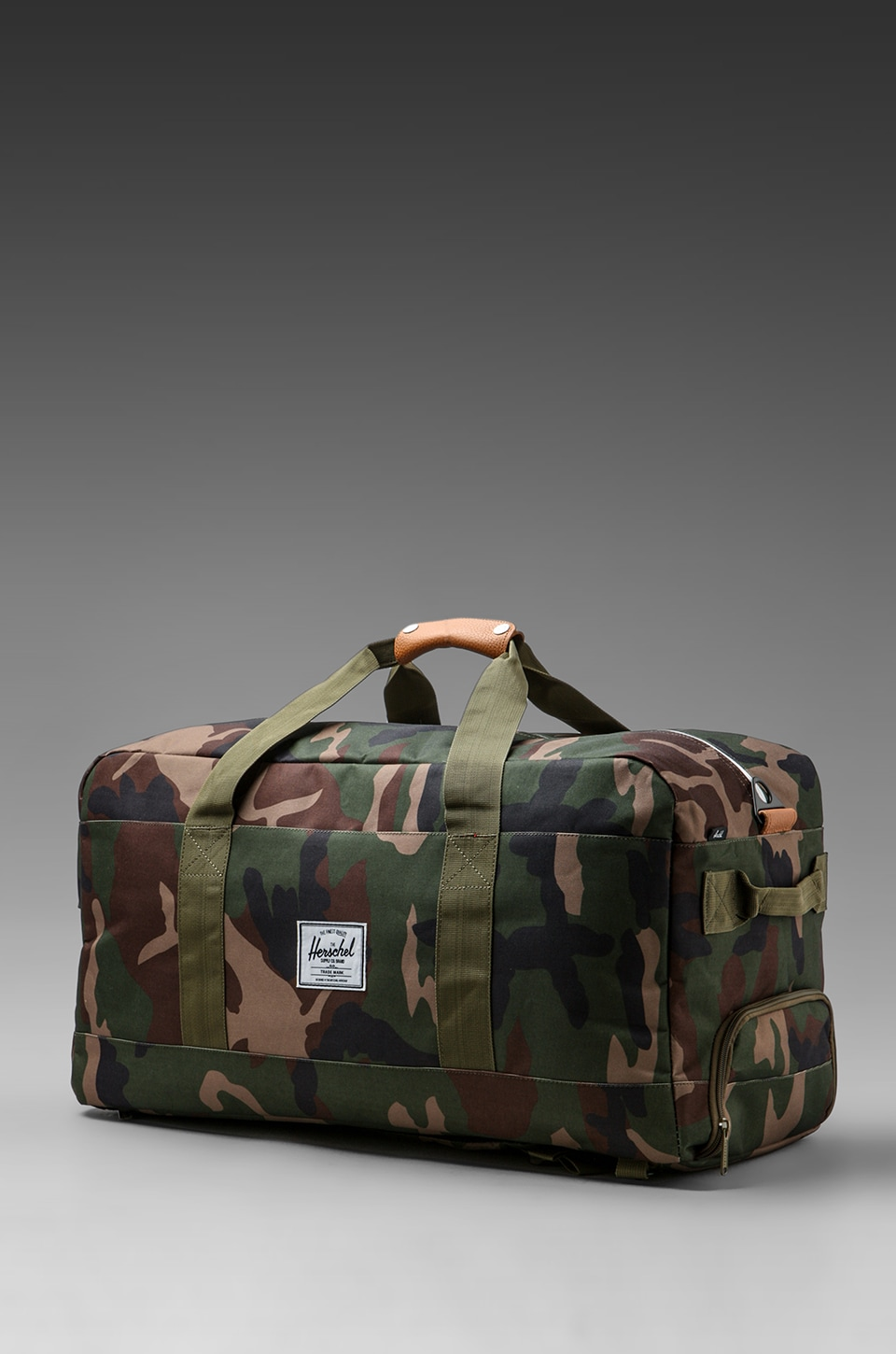 Herschel Supply Co. Outfitter Duffle in Woodland Camo