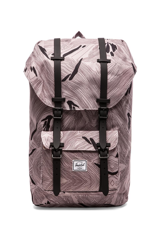 Herschel Supply Co. Little America Backpack in Geo/ Black