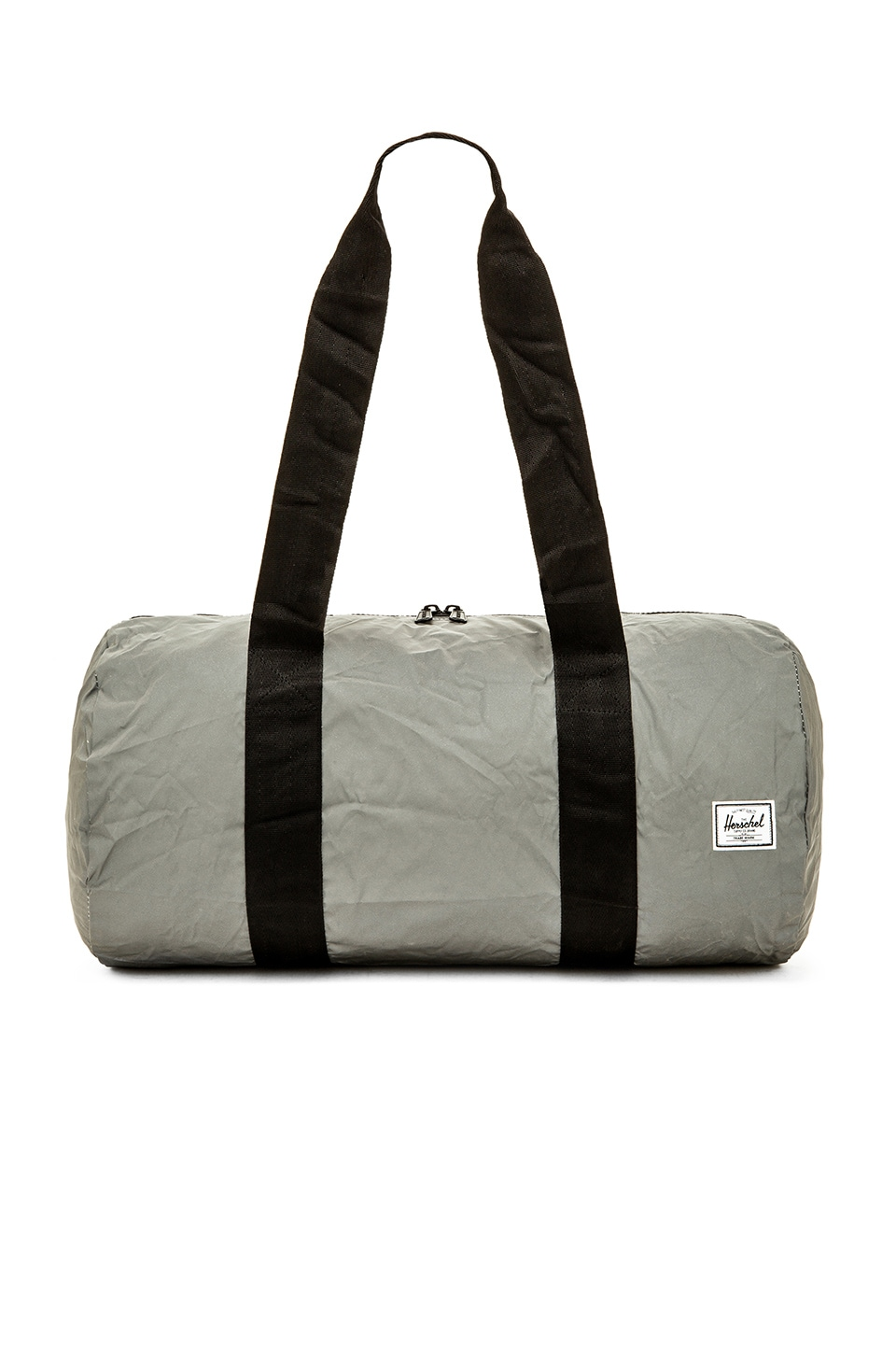 Herschel Supply Co. 3M Day / Night Collection Packable Duffle in Silver Reflective